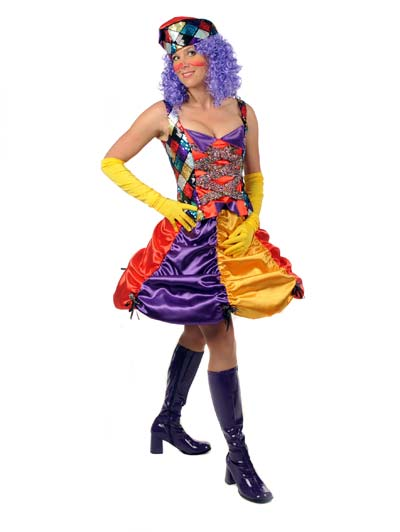 Clown girl sexy