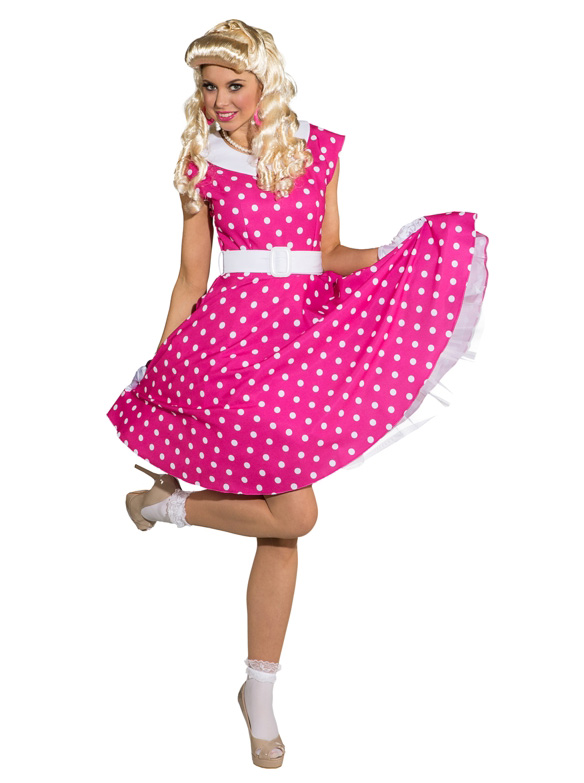 Sixties Kleid ROCKABILLY pink 50er 60er
