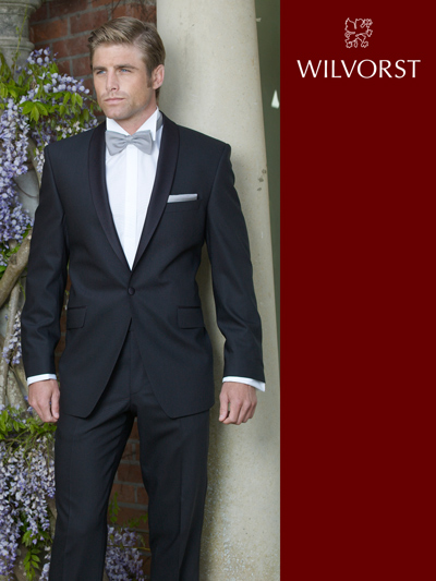 Wilvorst Schalkragen Smoking 2tlg Regular Fit | Black Tie Tuxedo